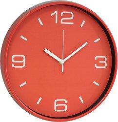 Стенен часовник Claps - Crossandra Red