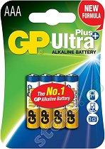 Батерия AAA - Алкална (LR03) - 4 броя - батерия