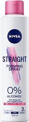 Nivea Straight Forming Spray - Оформящ спрей за права коса -