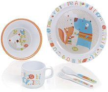 Детски комплект за хранене - ABC -
