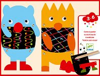 Скреч картини - Little Monsters - Творчески комплект -