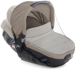 Универсална мрежа против комари - Аксесоар за детска количка, кошче за кола или кош за новородено - продукт