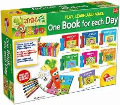 """Създай сам - Книга за всеки ден - Образователен комплект от серията """"Carotina Super Bip"""" - играчка"""