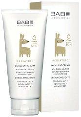 """BABE Pediatric Emollient Cream - Крем за суха и атопична кожа за бебета и деца от серията """"Pediatric"""" -"""