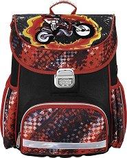 Ученическа раница - Motorbike -