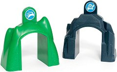 """Умни тунели за промяна скоростта на движение - Детски играчки със звукови ефекти от серията """"Brio: Аксесоари"""" -"""