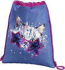 Спортна торба - Crazy cat -