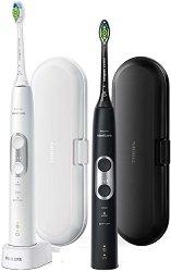 Philips Sonicare ProtectiveClean 6100 - Комплект от две електрически четки за зъби -