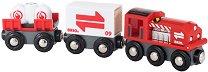 """Карго влак - Дървена играчка от серията """"Brio: Влакчета"""" -"""