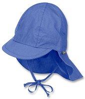 Бебешка шапка с UV защита - 100% памук - пюре