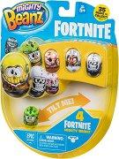 Mighty Beanz: Fortnite - Комплект от 4 бобчета за игра -