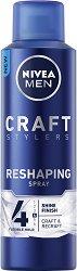 """Nivea Men Craft Stylers Reshaping Hairspray - Оформящ спрей за коса за мъже от серията """"Craft Stylers"""" -"""