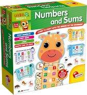 """Цифри и задачи - Образователен комплект от серията """"Carotina Baby"""" -"""