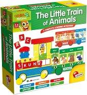 """Малкият влак на животните - Образователен пъзел от серията """"Carotina Baby"""" -"""