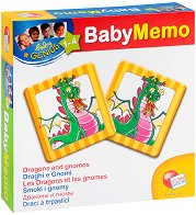 """Мемо карти с животни - Образователна игра от серията """"Carotina Baby"""" -"""