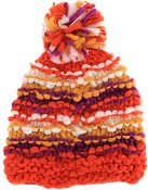 Зимна плетена шапка - Cori Flame