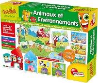 """Животните и околната среда - Образователен комплект от серията """"Carotina Baby"""" - пъзел"""