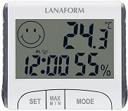 Дигитален стаен термометър с хигрометър - 2 в 1 -