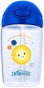 """Неразливаща се чаша със сламка - 350 ml - За бебета над 12 месеца от серията """"Milestones"""" -"""