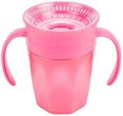 """Преходна чаша 360° с дръжки - Cheers 200 ml - За бебета над 6 месеца от серията """"Milestones"""" -"""