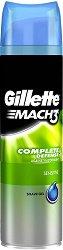 """Gillette Mach 3 Complete Defence Sensitive Shave Gel - Гел за бръснене за чувствителна кожа от серията """"Mach 3"""" - гел"""