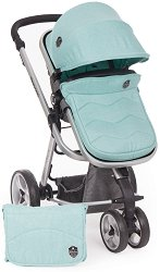 Комбинирана бебешка количка - Amica - С 3 колела -