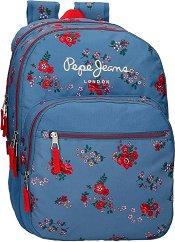 Ученическа раница - Pepe Jeans: Pam -
