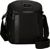 Чанта за рамо - Pepe Jeans: Allblack -