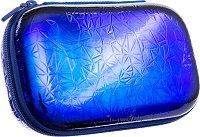 Ученически несесер - кутия - Blue Metallic -