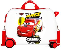 Детски куфар с колелца - Колите - топка
