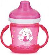 Неразливаща се чаша с мек накрайник и дръжки - Sweet Fun 180 ml - За бебета над 9 месеца -