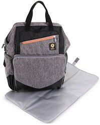 Раница - QPlay - Аксесоар за детска количка с подложка за преповиване -