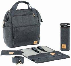 """Чанта-раница - Goldie Backpack - Аксесоар за детска количка с подложка за преповиване и термобокс от серията """"4Family"""" -"""