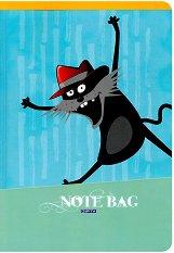 Ученическа тетрадка - Note Bag - Формат А5 с широки редове -
