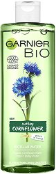 Garnier Bio Cornflower Micellar Cleansing Water - Био мицеларна вода за всеки тип кожа с метличина -