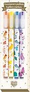 Блестящи маркери - Комплект от 4 цвята