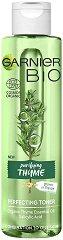 Garnier Bio Thyme Perfecting Toner - Био тоник за комбинирана до мазна кожа с масло от мащерка - крем