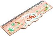Дървена линия - 15 cm