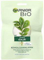 Garnier Bio Konjac Botanical Cleansing Sponge - Конджак гъба за почистване на лице - крем