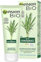 Garnier Bio Lemongrass Balancing Moisturizer - Био хидратиращ и балансиращ крем за лице за нормална до комбинирана кожа с лимонена трева - мокри кърпички