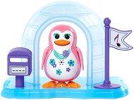 """Пеещ пингвин с иглу - Дафне - Интерактивна играчка с аксесоари от серията """"Digi Penguins"""" - играчка"""