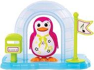"""Пеещ пингвин с иглу - Аликс - Интерактивна играчка с аксесоари от серията """"Digi Penguins"""" - играчка"""