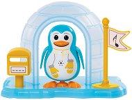 """Пеещ пингвин с иглу - Норт - Интерактивна играчка с аксесоари от серията """"Digi Penguins"""" - играчка"""