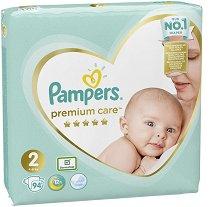 Pampers Premium Care 2 - Mini - Пелени за еднократна употреба за бебета с тегло от 4 до 8 kg -