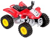 Cross Country ATV - Метална играчка с pull-back механизъм -