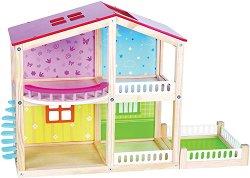 Дървена къща за кукли - Фантазия -