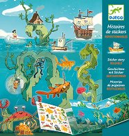 Декорирай със стикери - Приключения в морето - творчески комплект