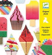 Оригами - Сладкиши - Творчески комплект -