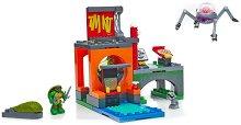 """Битка в леговището на костенурките - Детски конструктор от серията """"Костенурките Нинджа"""" -"""