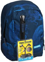 """Ученическа раница - Deep Blue - Комплект със слушалки от серията """"TAG Boy"""" - раница"""